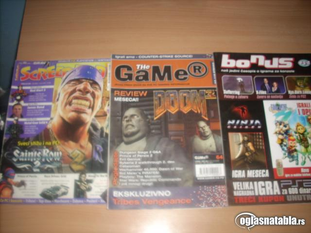 casopisi  gamer, screen fun, pc play,pc magazin  N