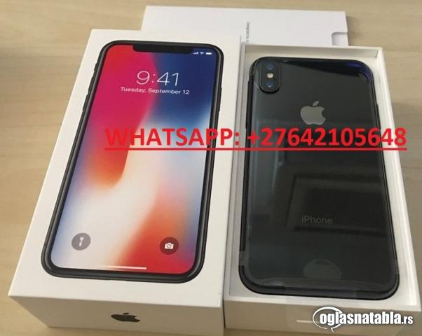 Apple iPhone X 64GB = €400 i Apple iPhone X 256GB