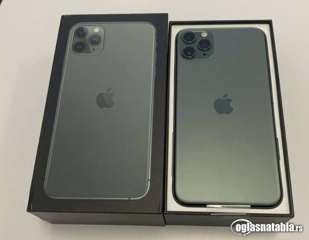 Apple iPhone 11 Pro 64GB = $600, iPhone 11 Pro Max